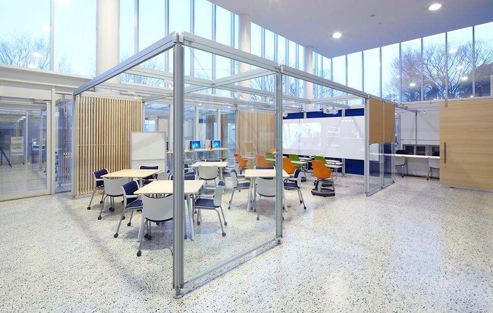 学生の成長を支援する多目的空間