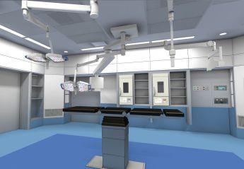 医療空間をリアルタイムにシミュレーションするコンテンツ