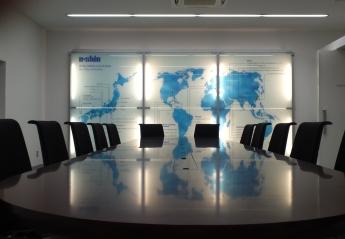スマートインフィル移設による企業メッセージ発信空間の再構築