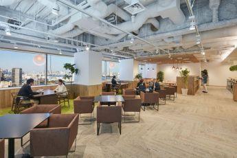 人と人、人と知恵が交わり新しいアイデアが生み出せるオフィス