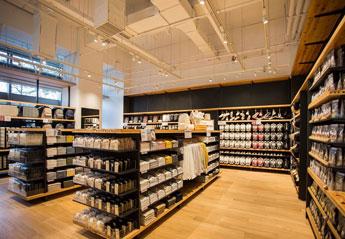 新たな店舗デザインとストーリーのあるマテリアルの提案 1
